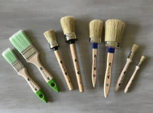 Nordic Chic pensler / paint brushes
