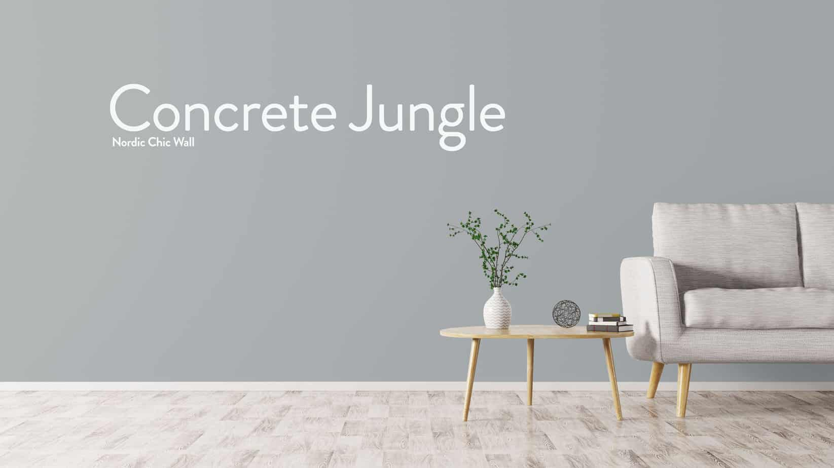 WALL CONCRETE JUNGLE