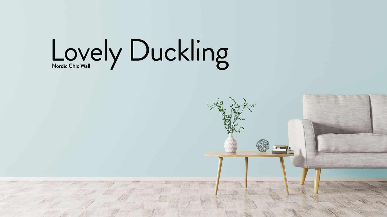 WALL LOVELY DUCKLING