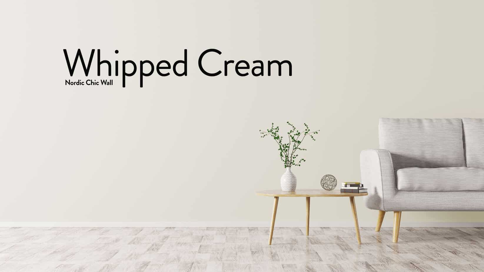 WALL WHIPPED CREAM